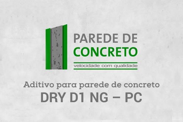 Dry D1 NG / Parede de Concreto